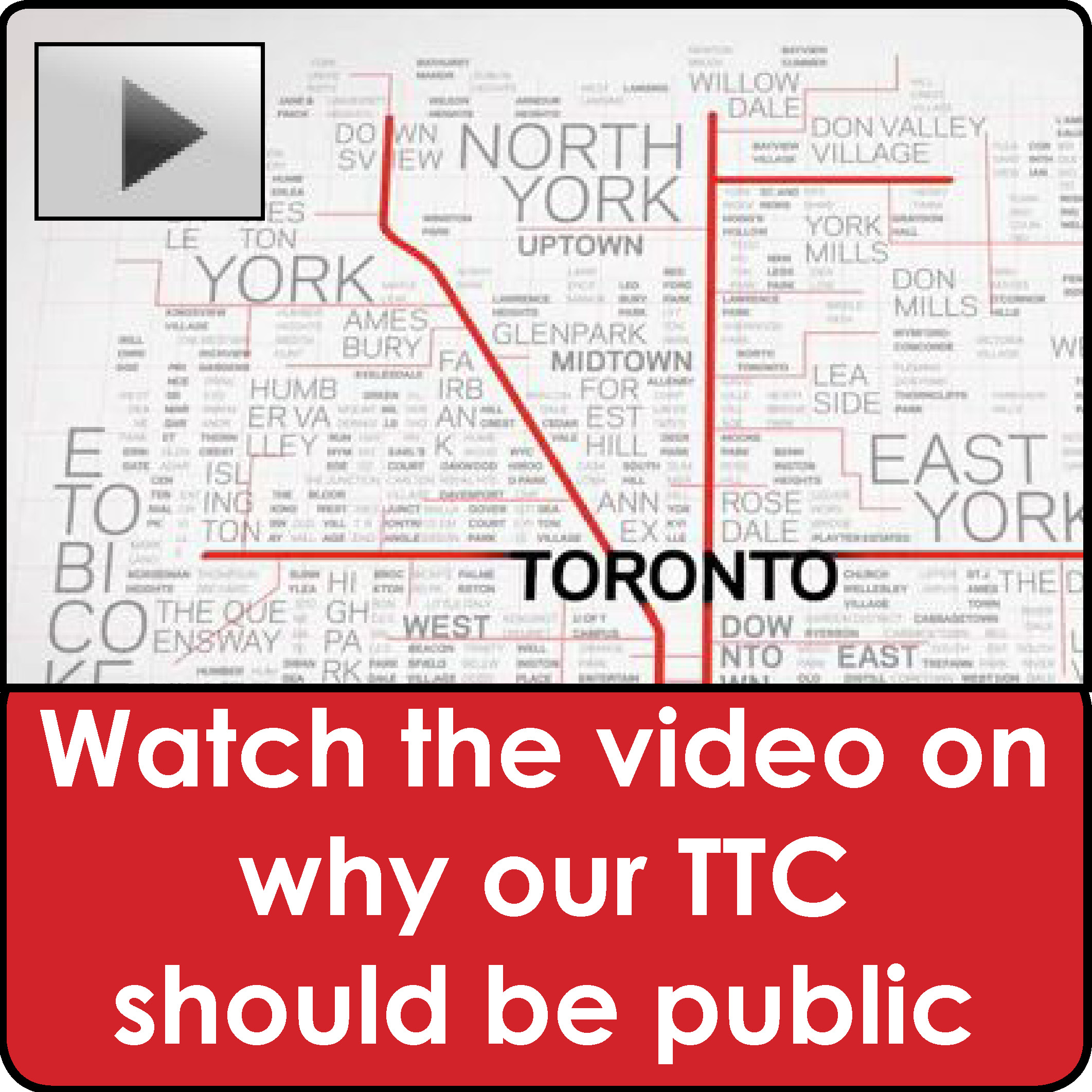 TTC should be kept public